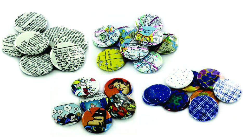 Button Making Supplies - Tecre Graphic Ideas