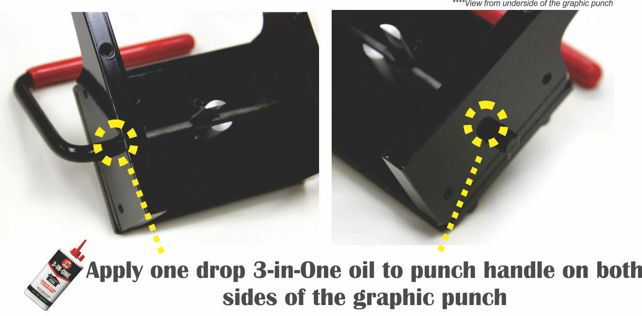 Tecre Button Maker Maintenance - Graphic Punch Cutter