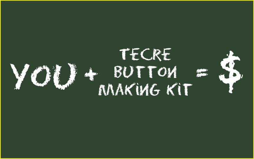 Button Maker Machine - Tecre