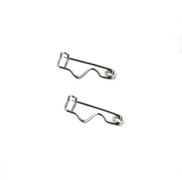"1"" Crimped Safety Pins"