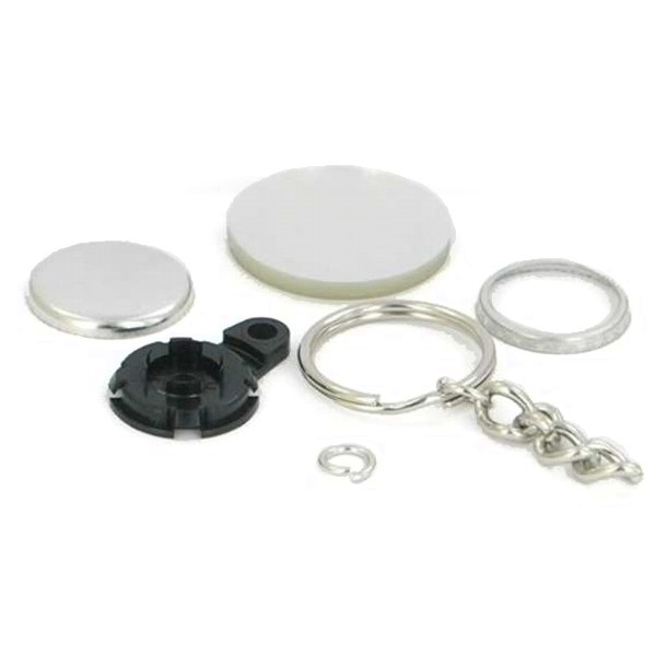 "1"" Round Versa-Back Chain Key Chain Complete Set"