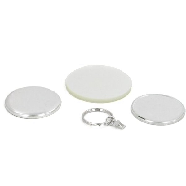 "1-3/4"" Round Split Key Ring Complete Set"