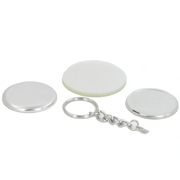"1-3/4"" Round Chain Key Chain Complete Set"