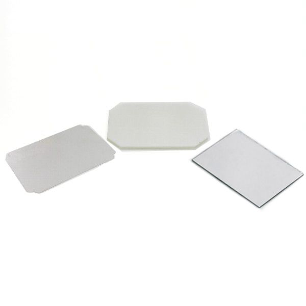"2-1/2"" x 3-1/2"" Rectangle Mirror Button Complete Set"