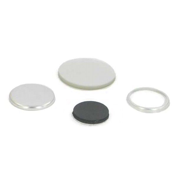 "1-1/4"" Round Collet Magnet Button Complete Set"
