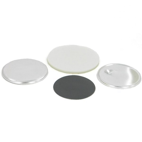 "2-1/4"" Round Magnet Button Complete Set"