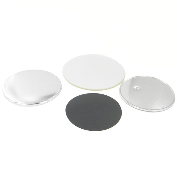 "3-1/2"" Round Magnet Button Complete Set"