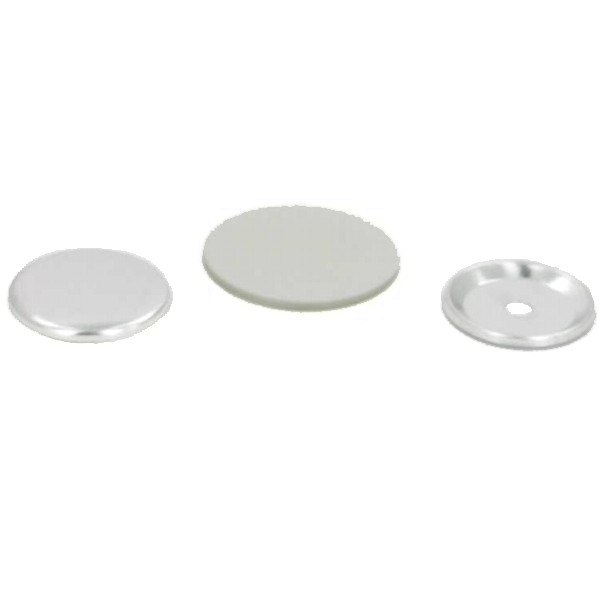 "1-1/2"" Round Center Hole Button Complete Set"